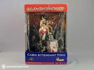 Фигурка Стюардесса Йоко. Cabin attendant Yoko.