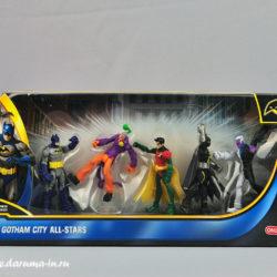 Набор фигурок Gotham city all stars. DC comics. Бэтмен, Джокер и др.