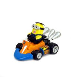 Игрушка Миньон-гонщик.