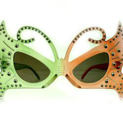 Очки Т14 (зелёные с коричневым)