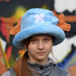 Шапка Чоппер (вар. 2, голубой)