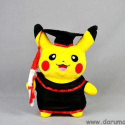 Пикачу-выпускник. Покемон. Мягкая игрушка.