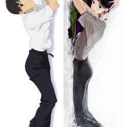 "Shinji Ikari. Синдзи Икари. Evangelion. ""Евангелион"". Дакимакура двусторонняя."