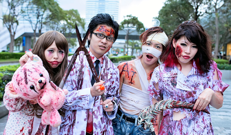 Хэллоуин в Японии.